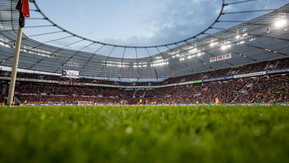 Mannschaftsfoto für Bayer 04 Leverkusen