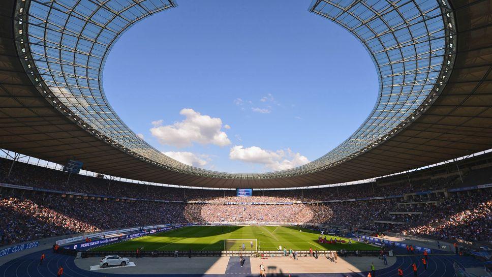 Mannschaftsfoto für Hertha BSC Berlin