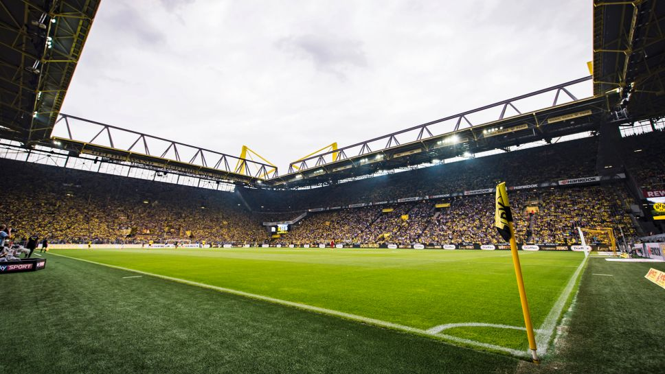 Mannschaftsfoto für Borussia Dortmund