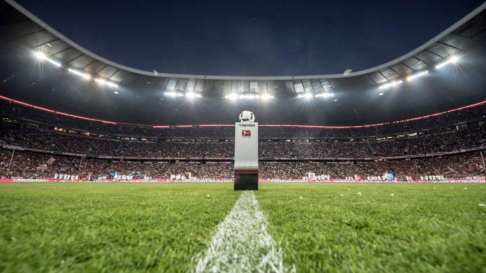 Mannschaftsfoto für FC Bayern München