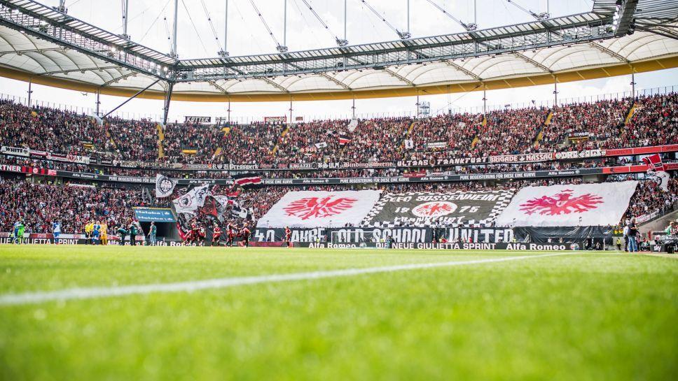 Mannschaftsfoto für Eintracht Frankfurt