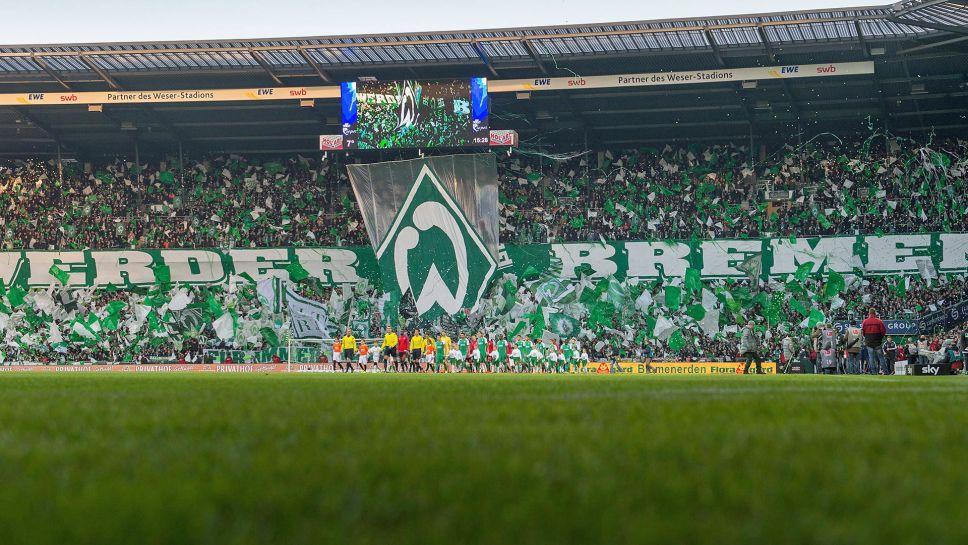 Mannschaftsfoto für SV Werder Bremen